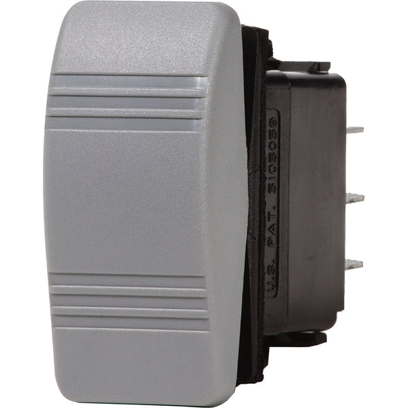 Blue Sea 8234 Water Resistant Contura III Switch - Gray