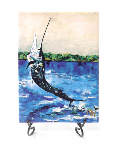 Panama Sailfish Mini Giclee