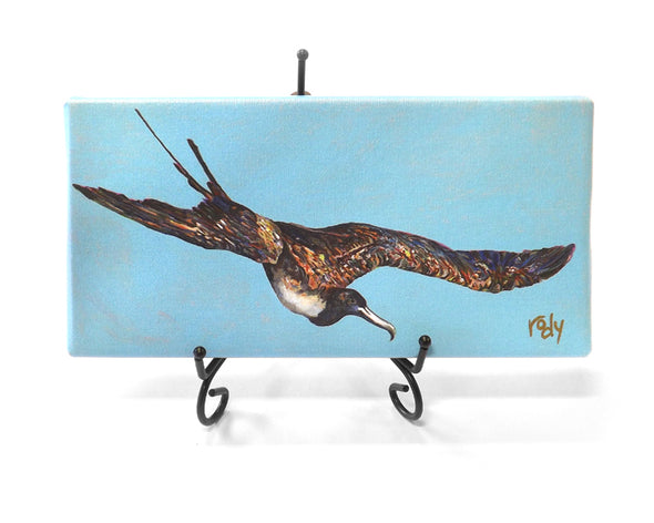 Man O War Bird Mini Giclee