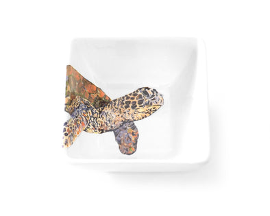 Sea Turtle Study Small Bowl