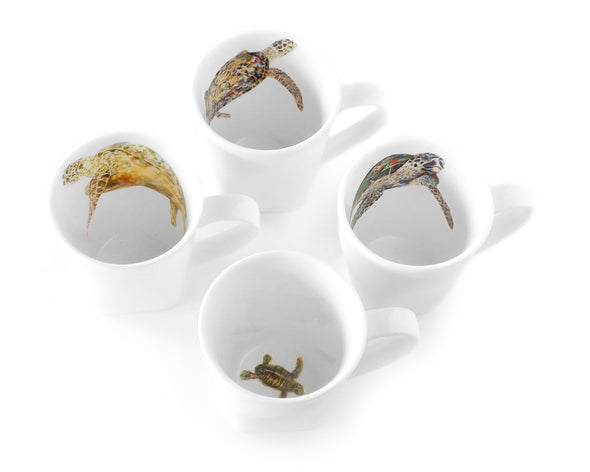 Sea Turtle Mug Set