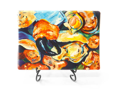 Stone Crab Claws Mini Giclee