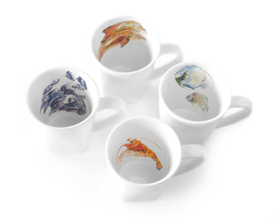 Sea Creature Mug Set