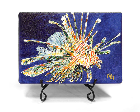 Dales Lionfish Mini Giclee