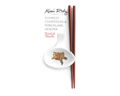Free Style Sea Turtle Chopstick Set