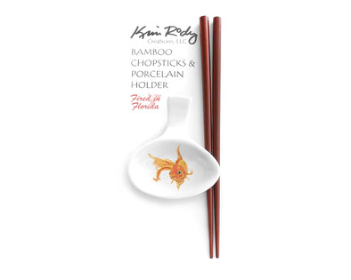 Goldfish 2 Chopstick Set