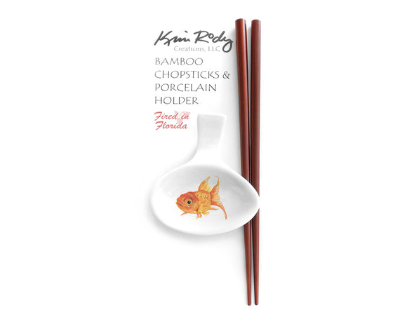 Goldfish 3 Chopstick Set