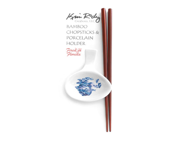 Gray Snappers Chopstick Set