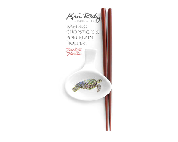 Laynes Sea Turtle Chopstick Set