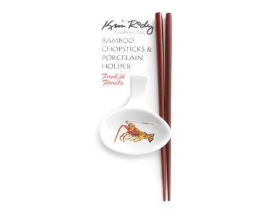 Lobster (white background) Chopstick Set