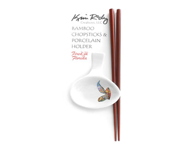 Out of the Blue Sea Turtle Chopstick Set
