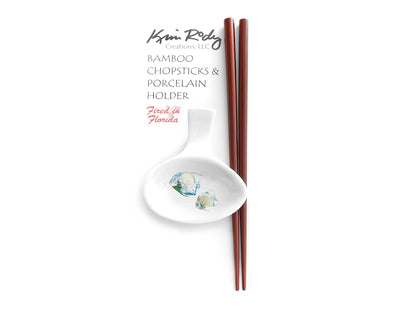 Pair of Angels Chopstick Set