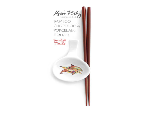 Pair of Dolphins Chopstick Set