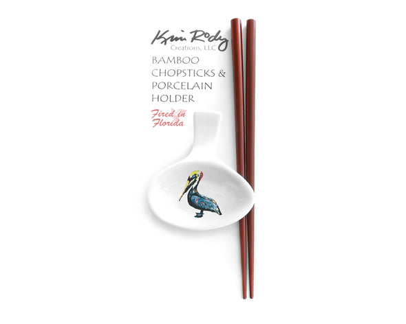 Pelican Chopstick Set