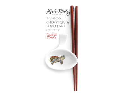 Sea Turtle Study Chopstick Set