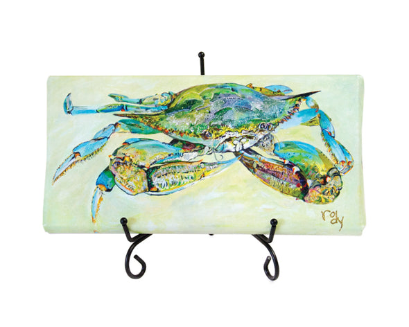 Big Blue Crab Mini Giclee