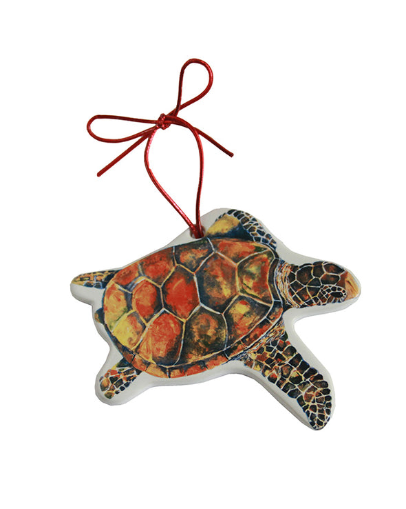 Freestyle Sea Turtle Ornament