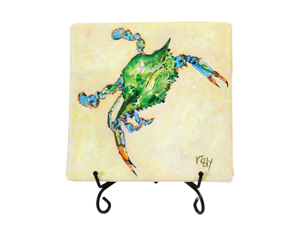 Just Pinch Me Blue Crab Mini Giclee