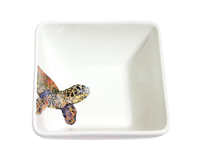 Sea Turtle Study Medium Bowl