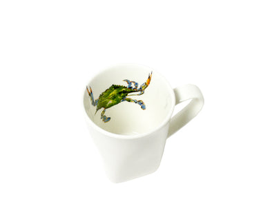 Just Pinch Me- Blue Crab Square Mug