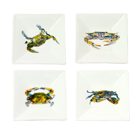 Blue Crab Tidbit Dish 4-Pack