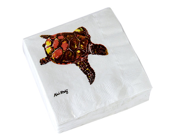 Freestyle Sea Turtle Cocktail Napkin Packs