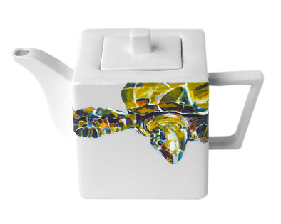 Green Sea Turtle Teapot