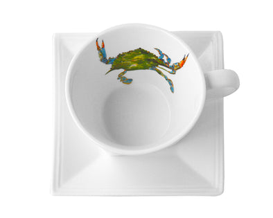 Just Pinch Me Tea Cup and Saucer