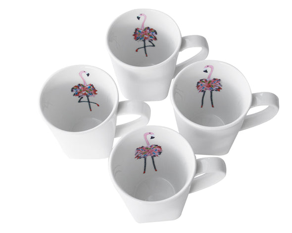 Flamingo Singles Mug Set