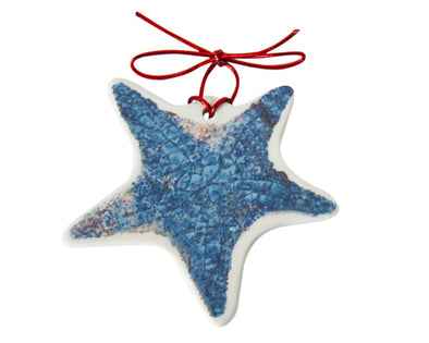 A Star is Born Blue Starfish Ornament (2017 series)