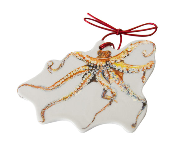 Out of the Blue Octopus Ornament (2017 series)