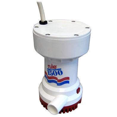 Rule 1500 G.P.H. Automatic Bilge Pump