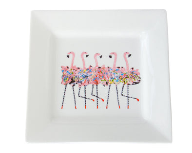 Flamingo Chorus Line Dinner Plate