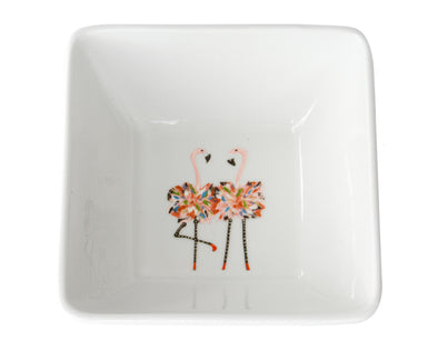 Flamingo Twins Medium Bowl