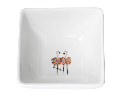 Flamingo Twins small bowl