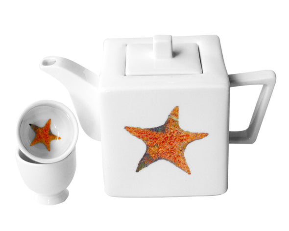 A Star is Born Teapot with Two Round Cups