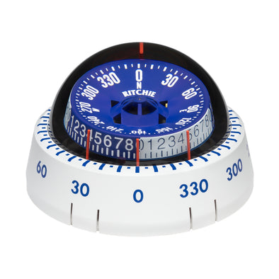 Ritchie XP-98W X-Port Tactician™ Compass - Surface Mount - White