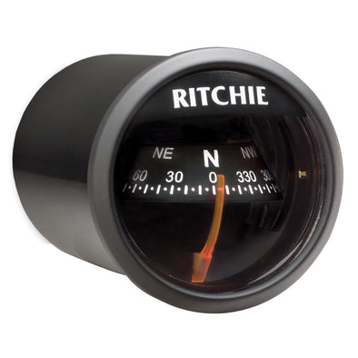 Ritchie X-21BB RitchieSport Compass - Dash Mount - Black/Black