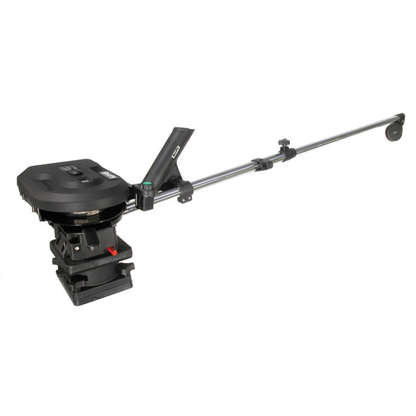 "Scotty 1106 Depthpower 60"" Telescoping Electric Downrigger w/Rod Holder & Swivel Mount"