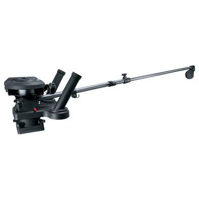 "Scotty 1116 Propack 60"" Telescoping Electric Downrigger w/ Dual Rod Holders and Swivel Base"
