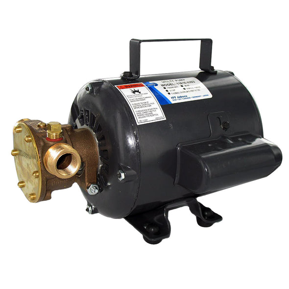 Jabsco Bronze AC Motor Pump Unit - 115v