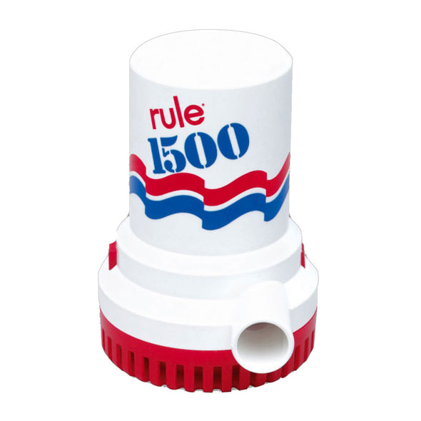 Rule 1500 GPH Non-Automatic Bilge Pump - 24v