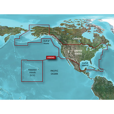 Garmin BlueChart® g3 HD - HXUS604x - US All & Canadian West - microSD™/SD™