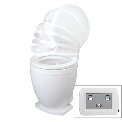Jabsco Lite Flush Electric 12V Toilet w/Control Panel