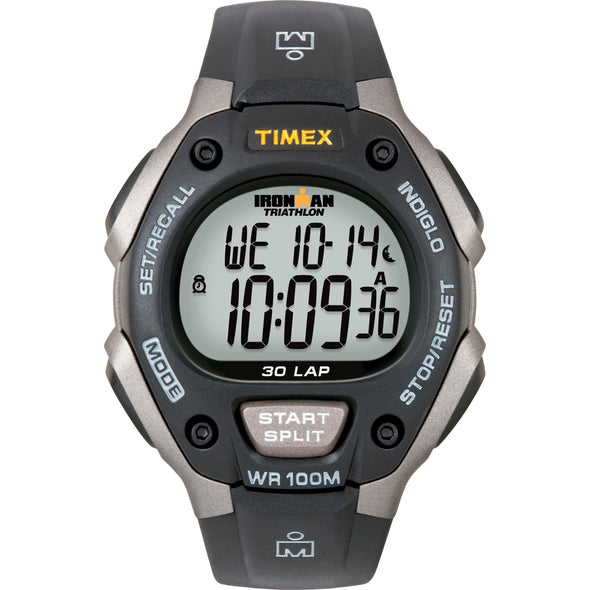 Timex Ironman Triathlon 30 Lap - Black/Silver