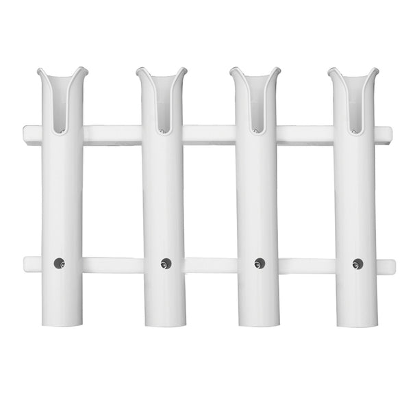 TACO 4-Rod Poly Rod Rack - White