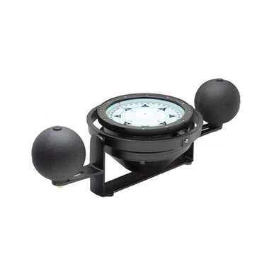 Ritchie Navy Standard Steel Boat Compass - Yoke Mounted - Black