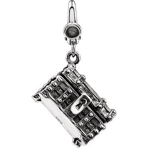 Pirate Treasure Chest Charm