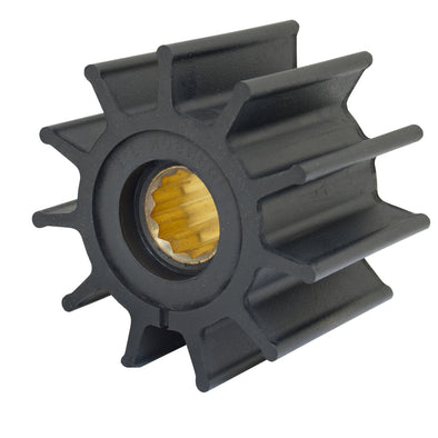 "Jabsco Impeller Kit - 12 Blade - Neoprene - 3-¾"" Diameter - Brass Insert - Spline Drive"