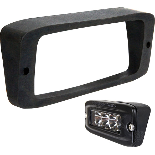 RIGID Industries SR-Q Series Angled Flush Mount Kit - Up/Down
